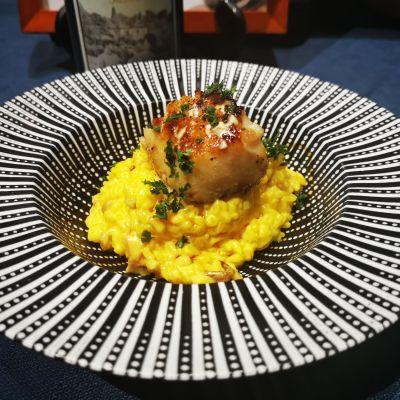 意式銀鱈魚燴飯