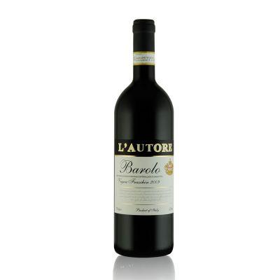 老作家巴羅洛紅葡萄酒